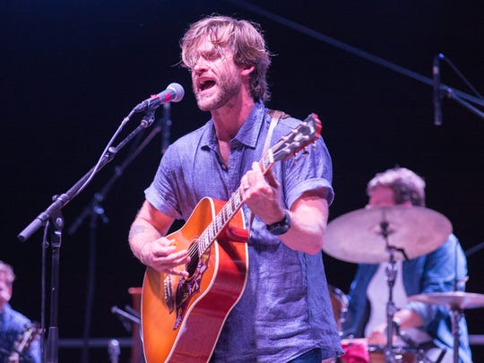 Jamestown Revival performs during the Fire on the Water Music Festival at Lock 4 Park in Gallatin on Saturday, Aug. 18.