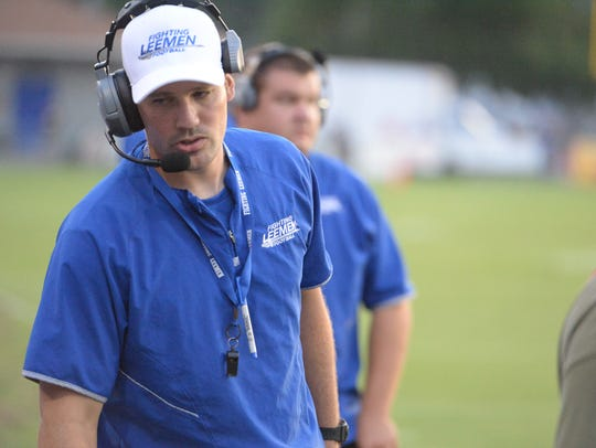Scott Girolmo is stepping down as Lee High's football coach after four seasons.