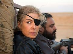 Rosamund Pike fights 'A Private War' in Oscar hopeful