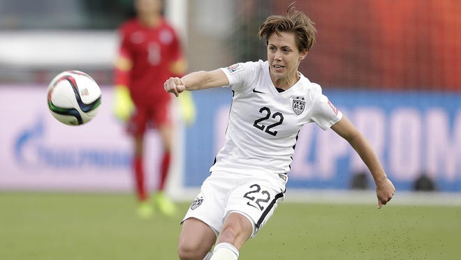 """""""Getting a shutout is our goal every single game,"""" said U.S. defender Meghan Klingenberg, above. """"That is very much the most important thing."""""""
