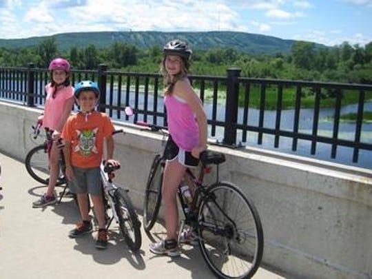 Our three delightful grandchildren from Duluth, Minn.,