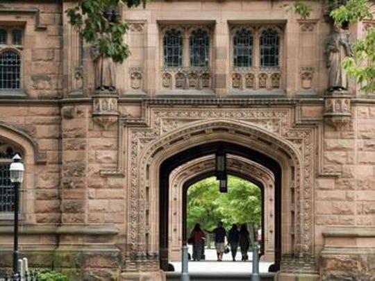 Princeton University's campus.