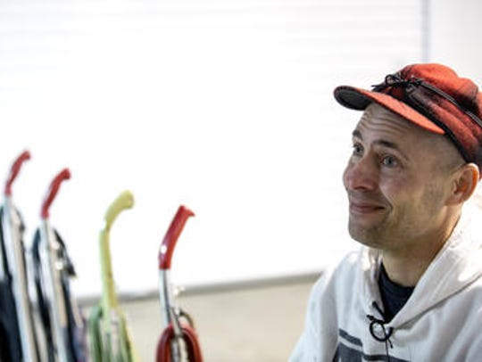 Michael Balda speaks about his passion for vacuum cleaner