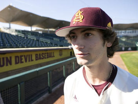 Freshman Drew Swift of Chandler is projected to be Arizona State baseball's starting second baseman.