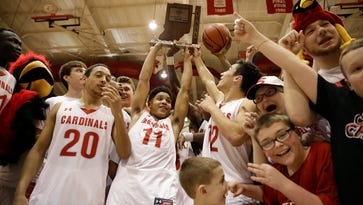 FILE – Will North Central's Kris Wilkes be all smiles after Saturday's regional action?