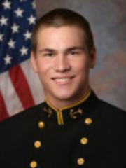 Flour Bluff grad and US Naval Academy freshman track athlete Clayton Thompson