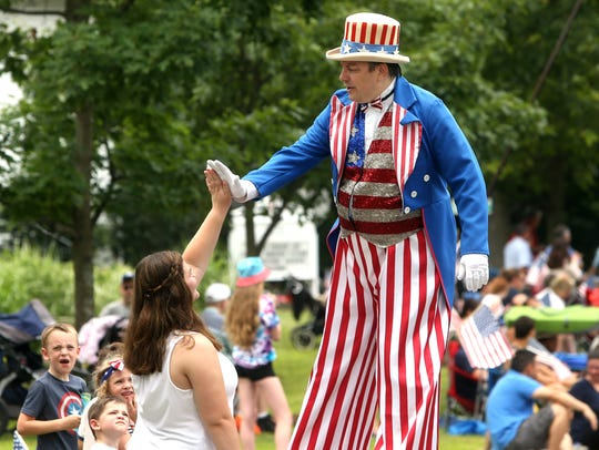 Randolph will host their 43rd annual Freedom Festival and Independence Day Parade. The three-day festival began Thursday night with a carnival, rides and entertainment and concludes Saturday with fireworks.