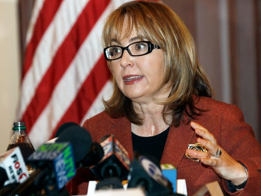 AP GUN CONTROL GIFFORDS A USA NJ