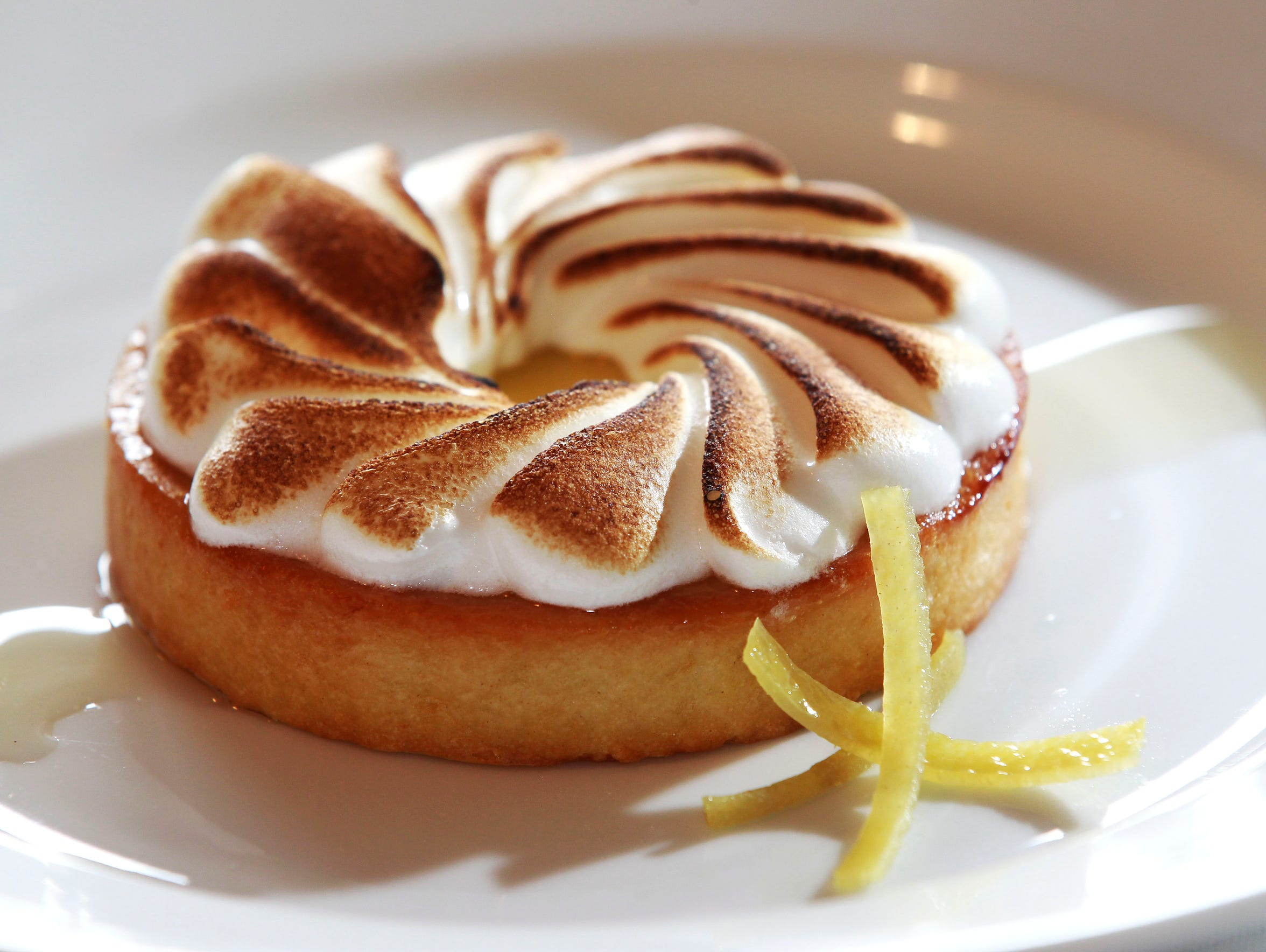 Tarte au Citron from the Lake Park Bistro at 3133 E.