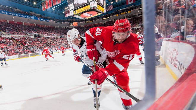 Drew Miller's penalty killing and forechecking could set an example for some of the Wings' young prospects.