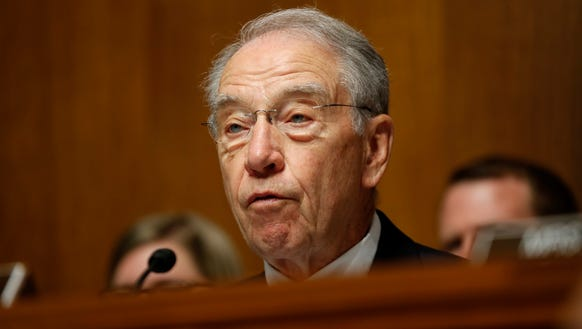 Senate Judiciary Committee Chairman Sen. Chuck Grassley,
