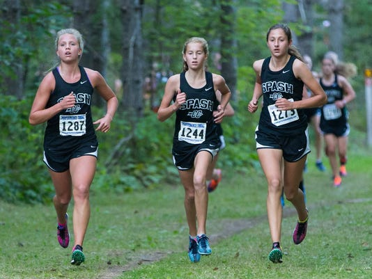 Girls Cross Country 2014 Nine Mile County Forest.jpg