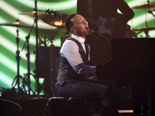 An 'Easy' performance by John Legend during the Lionel