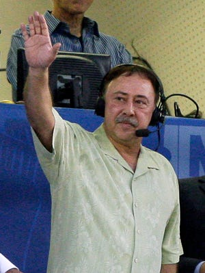 Jerry Remy has worked Red Sox broadcasts on NESN since 1988.
