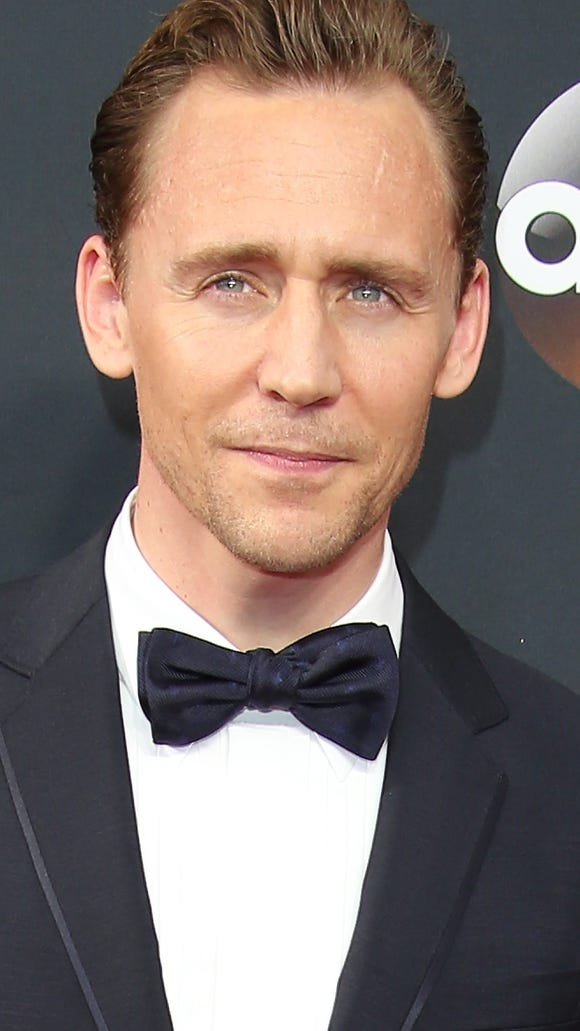 Hiddleston on the Emmys red carpet.