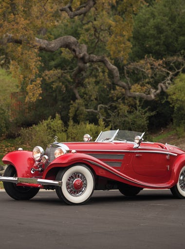 A rare 1937 Mercedes-Benz 540K Special Roadster is up for auction at this year's RM Sotheby's collector-car auction.