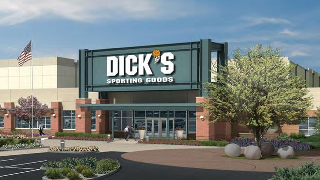 An artist's rendering of new Dick's Sporting Goods distribution center to be built at Conklin Corporate Park.