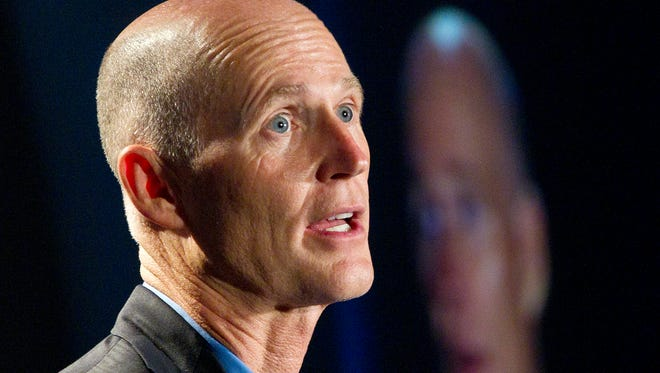 Florida Gov. Rick Scott, a Republican, opposed the health care law, and the federal government created his state's health care exchange.