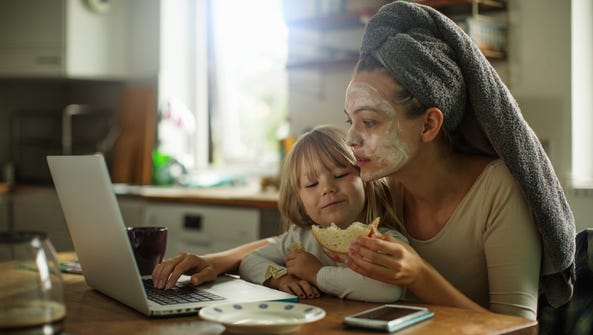Moms facing work, domestic and beauty pressure need