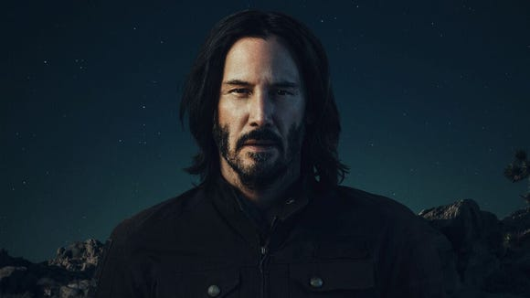 Keanu Reeves stars in a teaser ad for Squarespace.