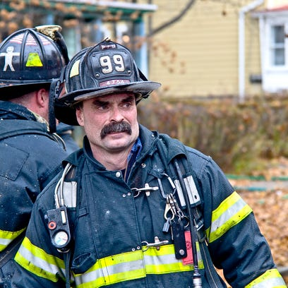 GALLERY: Firefighter Timothy Gunther remembered Monday