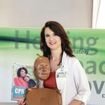 Christina Freeman is a nurse with the Greenville Hospital System Chest Pain Center.