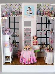 Esta creación, Cupcake Shop, de Sally Lonn formó parte