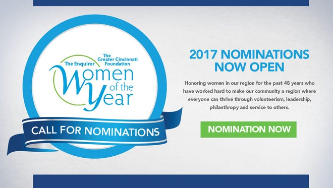 The Enquirer and The Greater Cincinnati Foundation announce the 2017 Women of the Year.