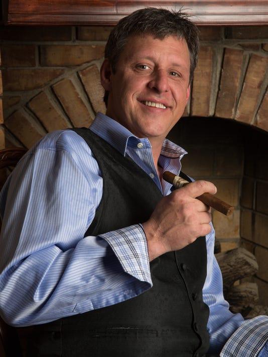 Robert Swope and cigar
