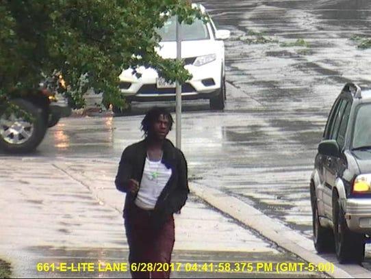 Carjacking/hit-and-run suspect