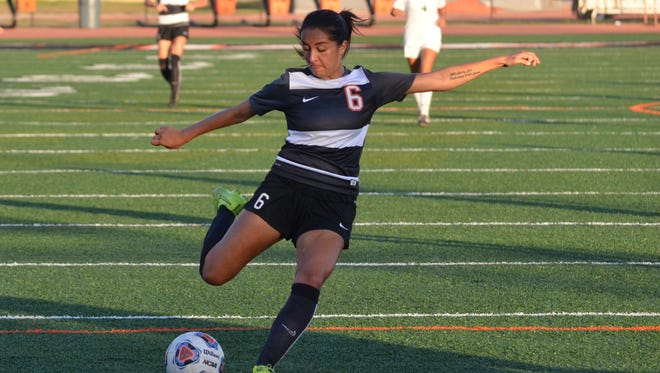 Sophomore striker Janelle Garcia, an Oxnard High graduate, was named 2016 Western State Conference North Division women's soccer Player of the Year.