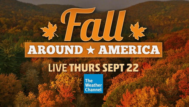 The Weather Channel's morning show co-host Jim Cantore will broadcast from Hendersonville on Sept. 22.