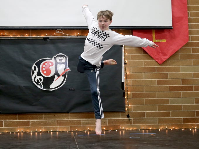 Mountain View Middle School sixth grader Ethan Sprague,