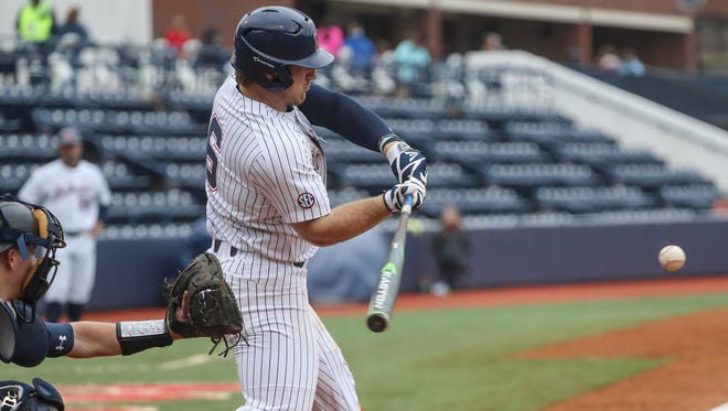 Left fielder Thomas Dillard drove in four runs and scored three times in Ole Miss' 9-4 win over New Orleans Tuesday.