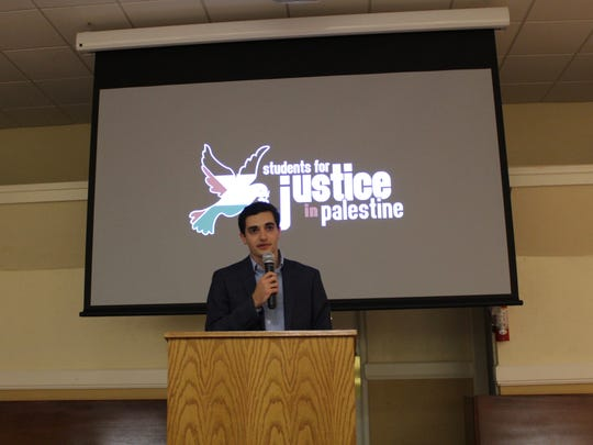 Albert Kishek, a junior majoring in physics and co-President of SJP at FSU, says the event aimed to shed light on the hardships that many Palestinians regularly endure as the result of a protracted conflict that has no end in sight.
