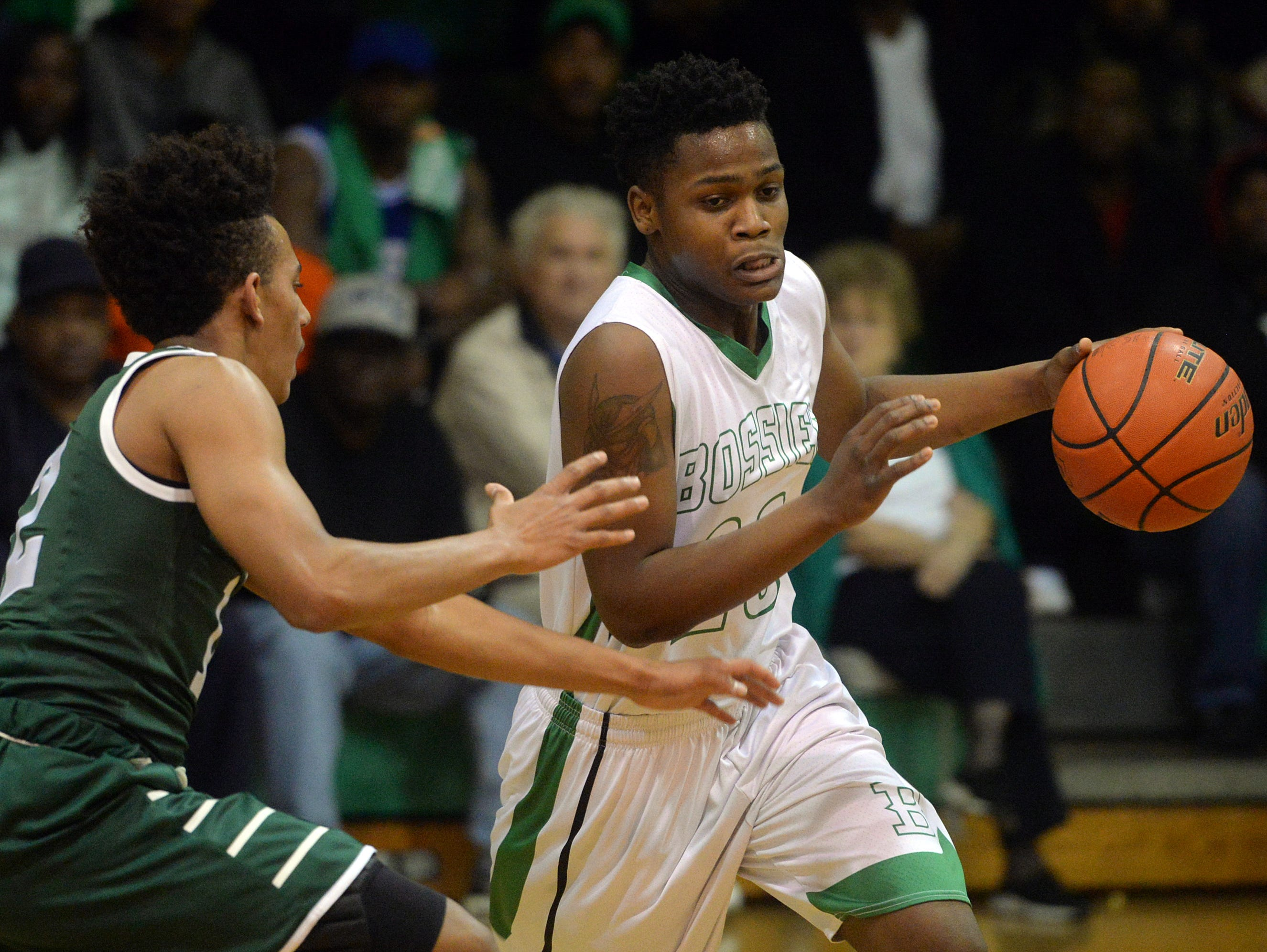 Senior guard Tyrese English is Bossier's leading scorer during the postseason with more than 19 points per game.