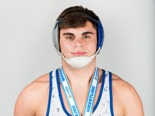 Winter Player of the Year finalist Jack Simpson, Barron Collier wrestling