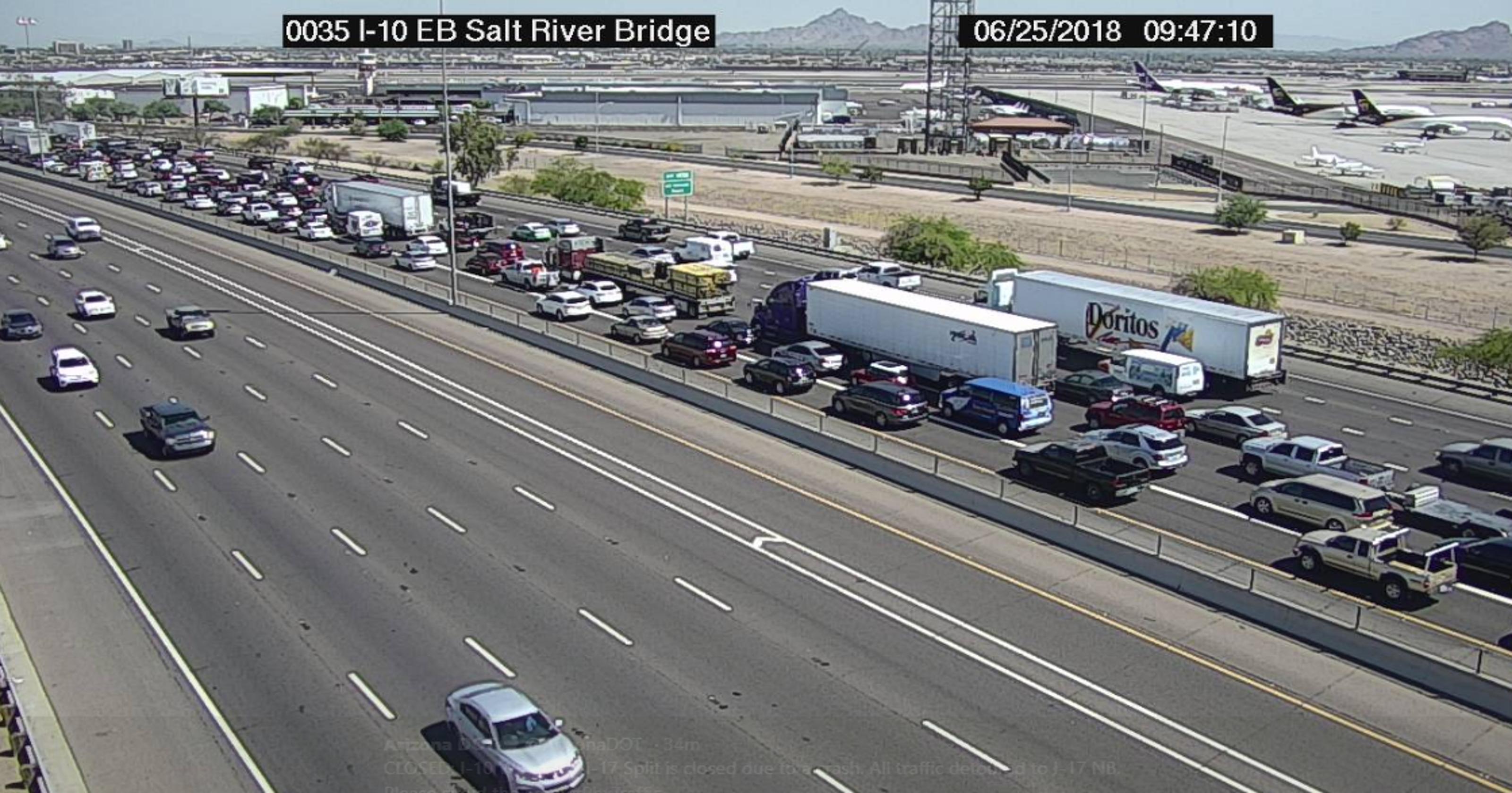 10 Freeway Accident Update