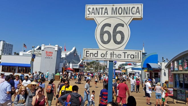 Santa Monica Pier in California will be the site of the upcoming Land Art Generator Initiative, a showcase for large-scale art installation projects that would generate clean energy and/or drinking water.