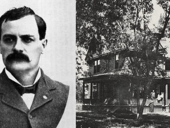 Judge Jay Bouton built the home at 113 Sherwood St.