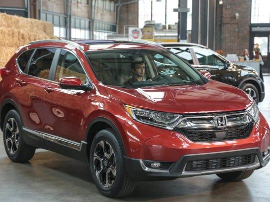 In second place: 2017 Honda CR-V