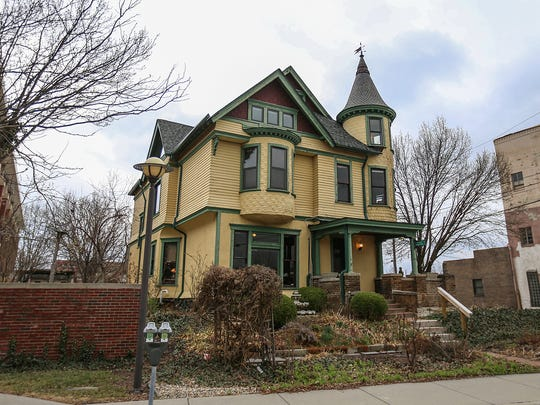 This 1890s Victorian mansion at 645 S. Meridian St. in Indianapolis is owned by Jerry B. Wade.