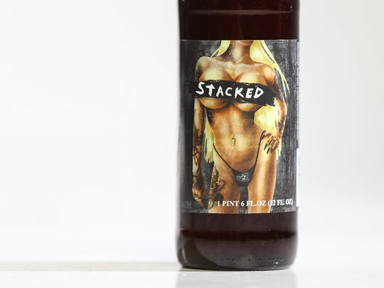 Stacked double IPA from Route 2 Brews in Lowell, Ind.
