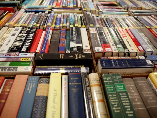Get some books, audio books, VHS and DVD movies or CDs at this Spring Book Sale.
