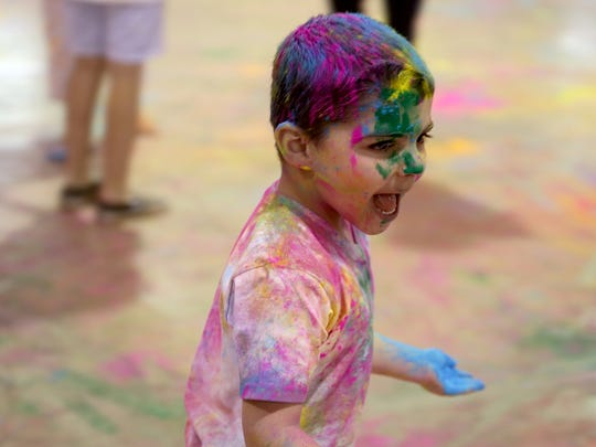 Holi is from noon to 4 p.m. Sunday, April 21.