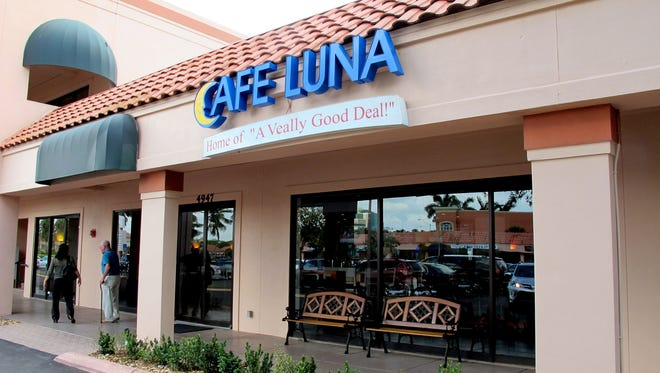 Cafe Luna closed its Naples location in Liberty Plaza off U.S. 41 last week. The Italian restaurant's North Naples location remains open.