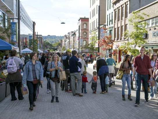 Ithaca is an upstate anomaly, boasting significant
