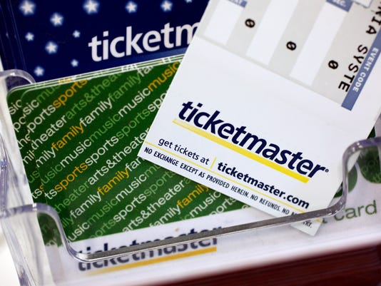 AP LIVE NATION TICKETMASTER MERGER F FILE USA CA