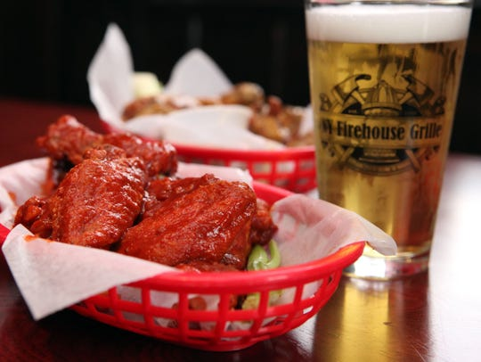 The Waiver wings at New York Firehouse Grille in Peekskill.