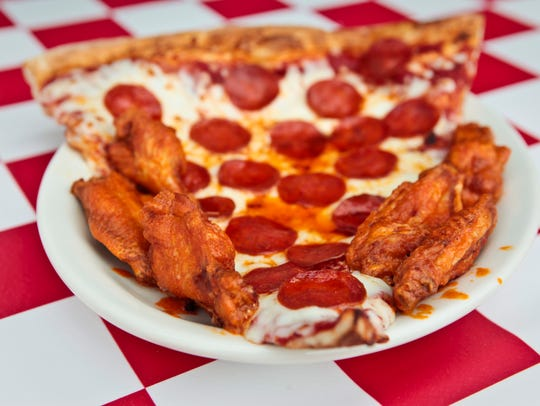 For more than 30 years, Pullano's in Glendale has quenched the desires of Arizona residents looking for a giant slice of pizza— 10 inches wide to be exact—with wings.